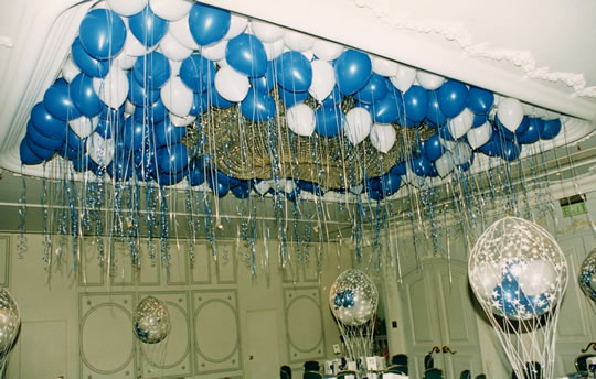 Balloon decorating service for Balloon decoration for ceiling